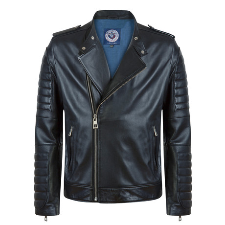 Pointer Leather Jacket // Black (S)
