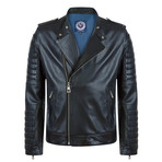 Pointer Leather Jacket // Black (XL)