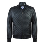 Degree Leather Jacket // Black (XL)
