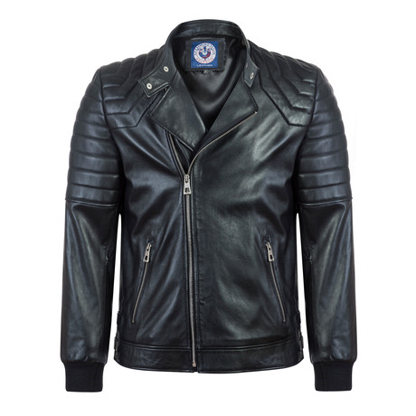 Find Leather Jacket // Black (S)