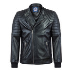 Find Leather Jacket // Black (XL)