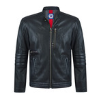 Striker Leather Jacket // Black (XL)