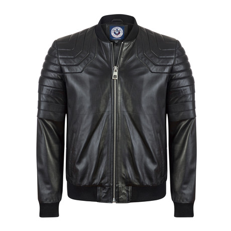 Makeable Leather Jacket // Black (S)