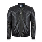 Makeable Leather Jacket // Black (M)