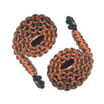Paracord Charging Cable // Camo + Orange // Set of 2 (Micro USB)