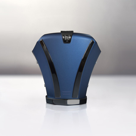 Haston Level II // Marine Blue Titanium // Black