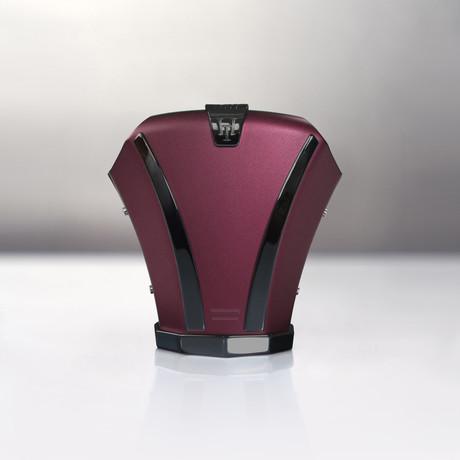 Haston Level II // Bordeaux Titanium // Black