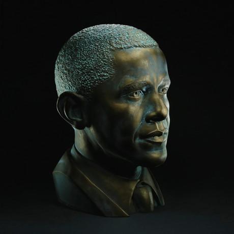 Barack Obama Bust (Classic White)