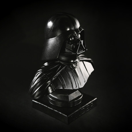 Darth Vader Bust (Glossy Black Finish)
