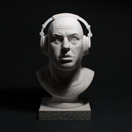 Joe Rogan Bust (Classic White)