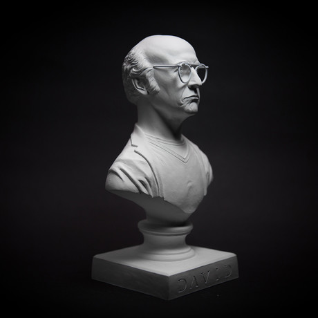Larry David Bust (Classic White)