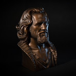The Dude Bust (Classic White)