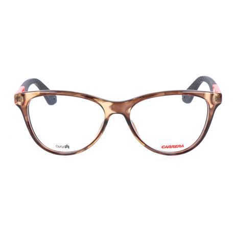 Women's CA5517 8GS Frames // Camouflage Brown + Orange