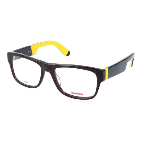 Men's CA4402 TRD Optical Frames // Dark Havana Black