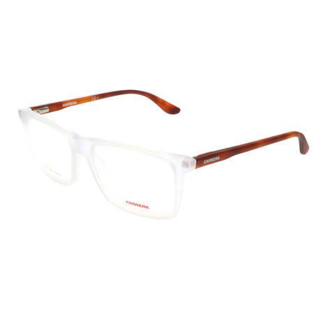 Unisex CA6637-N-IJI Optical Frames // Crystal Havana (52-17-145)
