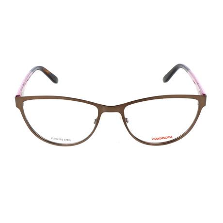 Women's CA6651 SQX Frames // Brown + Pink