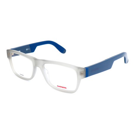 Men's CA4402-KW9 Optical Frames // Gray + Blue