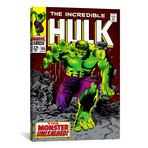 "Hulk Issue Cover #105 (26""W x 18""H x 0.75""D)"