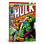 "Hulk Issue Cover #181 (26""W x 18""H x 0.75""D)"