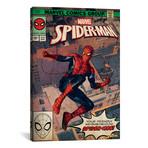 """Marvel's Spider-Man: Spider-Man Swinging Through The Neighbood (26""""W x 18""""H x 0.75""""D)"""