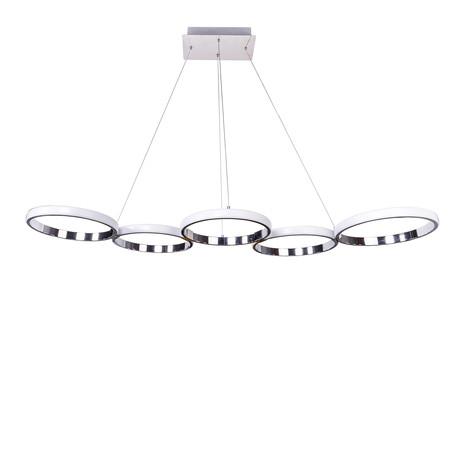 Modern Design // 5 Hoop LED Chandelier