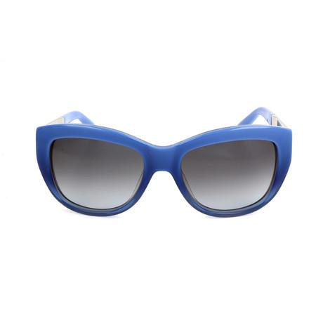 The Grace // NQ8-F8 Sunglasses // Shaded Blue Palladium