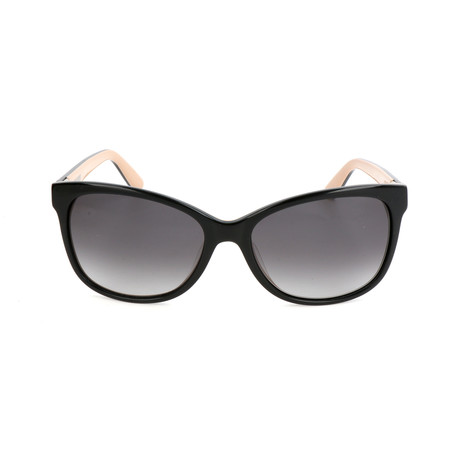 The Rose // KDX-F8 Sunglasses // Black + Nude