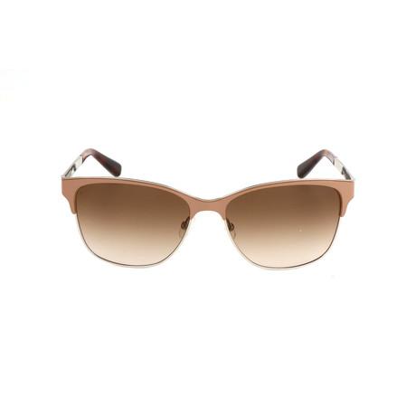 The Ruby // NQE-CC Sunglasses // Solid Nude Palladium