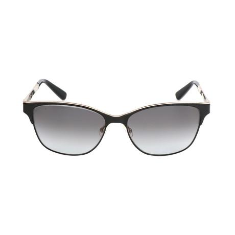 The Ruby // F0G-F8 Sunglasses // Black + Gold