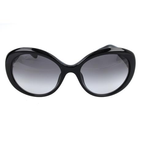The Ali // 807-F8 Sunglasses // Black