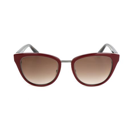 The Rowan // KE6-CC Sunglasses // Opal + Burgundy + Dark Havana