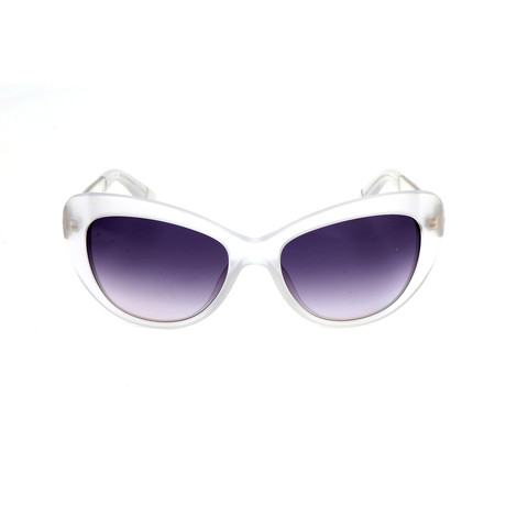 The Anna // GKZ Sunglasses // Crystal Palladium