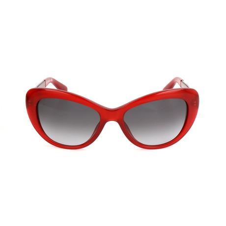 The Anna // LBD Sunglasses // Burgundy Palladium
