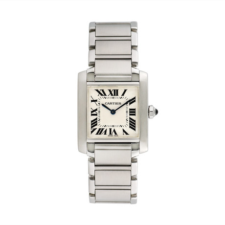 Cartier Tank Francaise Quartz // 2384 // Pre-Owned