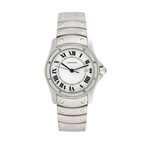 Cartier Santos Ronde Quartz // 1561 1 // Pre-Owned