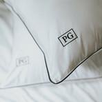 White Down Stomach Sleeper Soft Pillow (Standard/Queen)