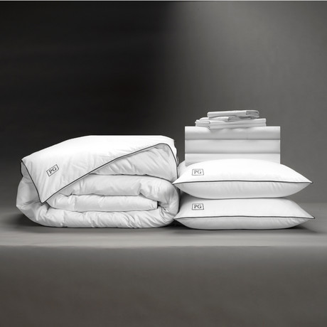 Luxe Soft + Smooth Perfect Bedding Bundle // White (Full)