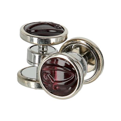 Jewelry Cufflinks // Bordeaux
