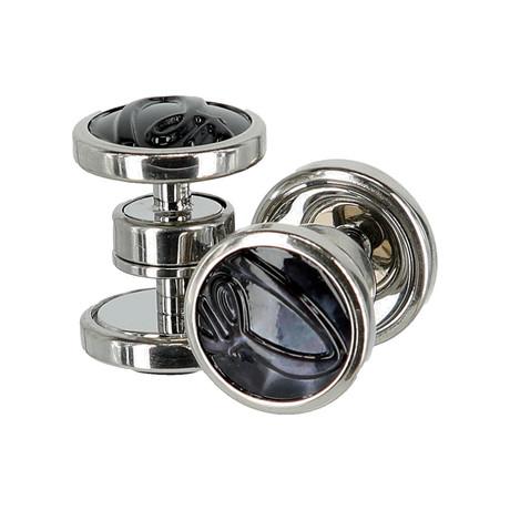 Jewelry Cufflinks // Navy