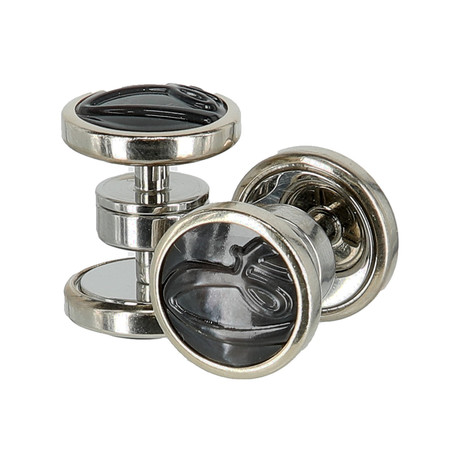 Jewelry Cufflinks // Grey