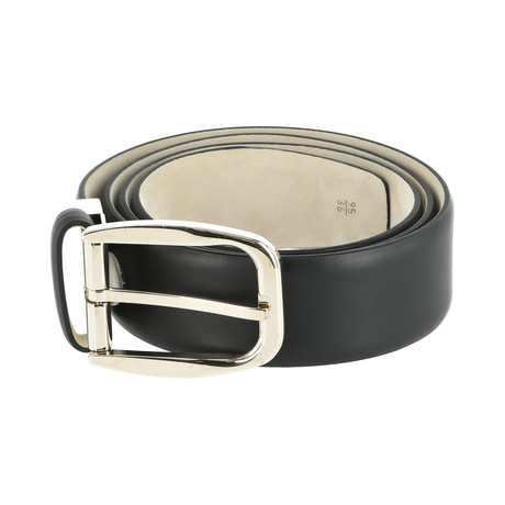Leather Belt // Beetroot (Euro: 80)