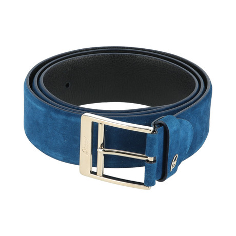 Classic Leather Belt // Regenly Blue (Euro: 80)