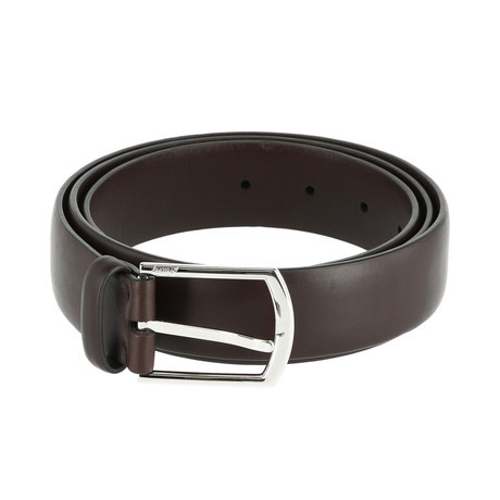 Classic Leather Belt // Oxblood (Euro: 80)