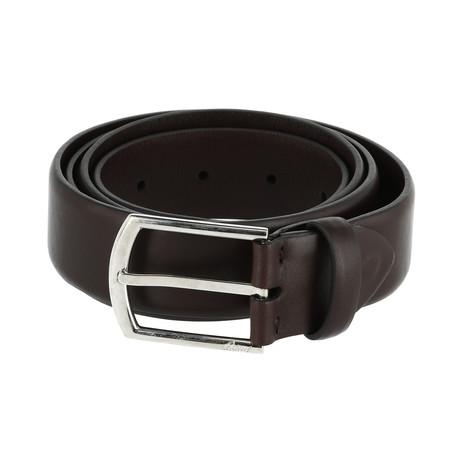 Leather Belt // Oxblood (Euro: 80)