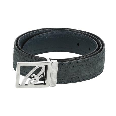 Classic Belt // Slate Blue (Euro: 80)