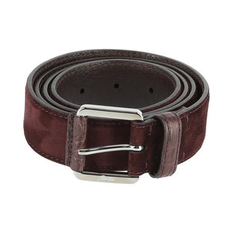 Classic Belt // Red (Euro: 80)