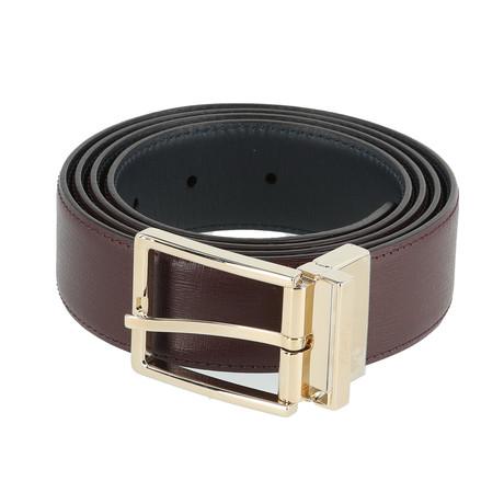 Reversible Belt // Oxblood (Euro: 80)