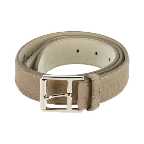 Classic Leather Belt // Camel (Euro: 80)