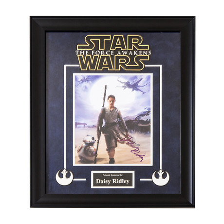 Signed + Framed Artist Series // Rey II