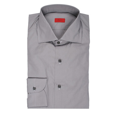 ISAIA // Strollo Dress Shirt // Gray (US: 15R)